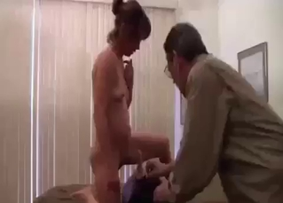 Daddy treats his daughter with a huge toy