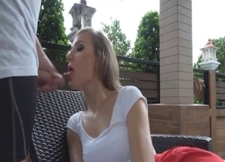 Sensual daughter knows how to please her dad