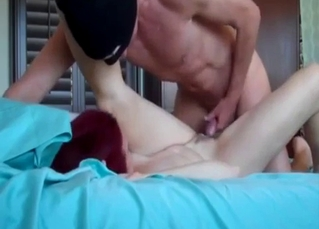 Screwing my redhead mother in POV mode