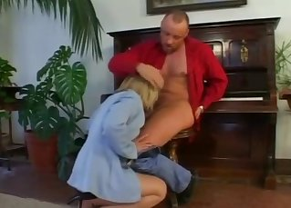 Sexy blonde mom nailed hard by dirty uncle