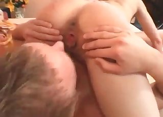 Cheating sister gives her brother a good blowjob