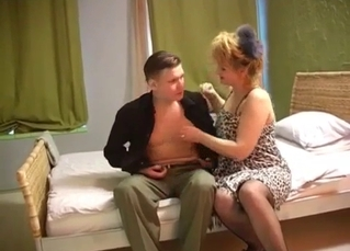 Sexy mom and son have a perfect night