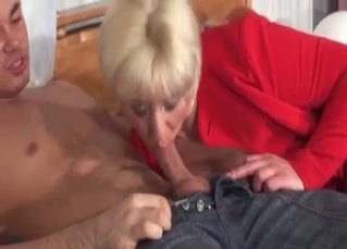 Busty mom deserves to be fucked by son