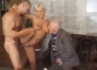Big-tit doll is trying incest sex