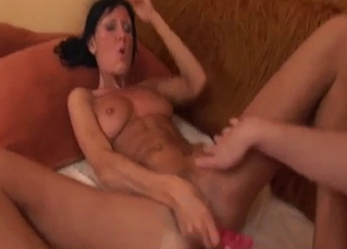 Brother seduces and fucks his naked sister