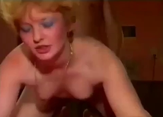 Mommy is enjoying when son fucks her cunt