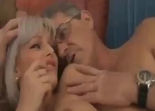 Daddy hardly fucks his glamorous daughter