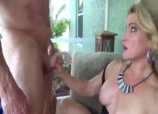 Alluring daughter knows how to suck her daddy