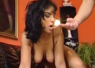 Hardcore sex with my big-boobed doll mom