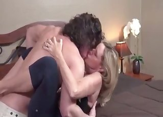 Muscled brother seduced his hot sister