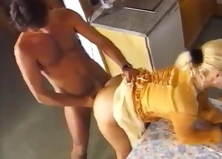 Auntie and uncle have amazing sex action