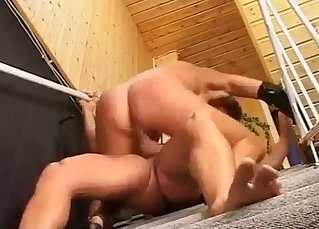Hardcore sex with a perverted auntie