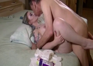 Tattooed hottie gets fucked by uncle