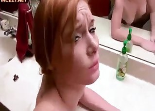 Daughter got fucked hard by her dad
