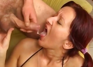 Hardcore anal incest with a hot sister