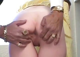 Sticking fingers in her juicy wet vagina